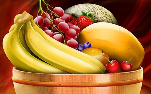 طرز تهیه سالاد میهوه