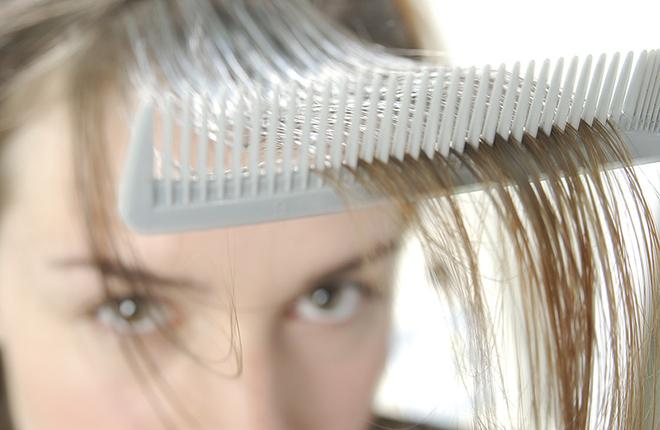 توقف ریزش مو