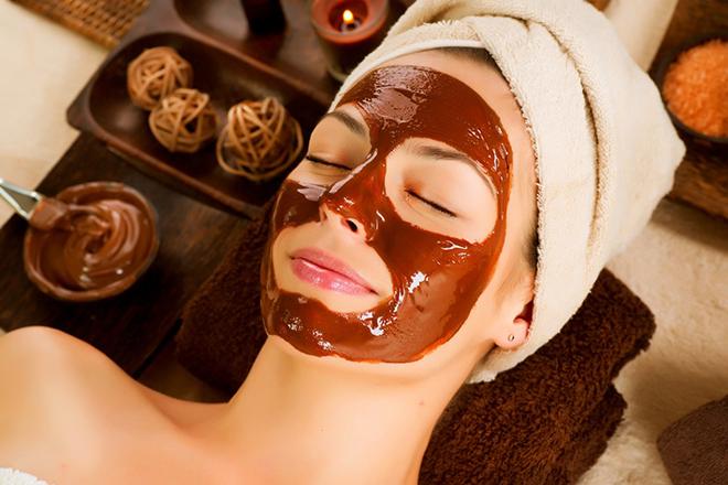 ماسک صورت خانگی شکلات