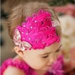 جدید ترین مدل های کلاه نوزادی و هد بند دخترانه