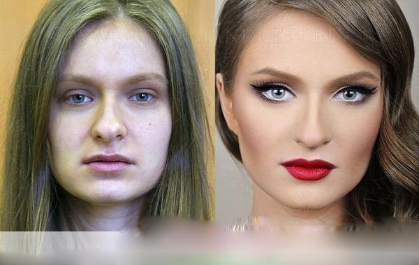تاثیر آرایش بر چهره
