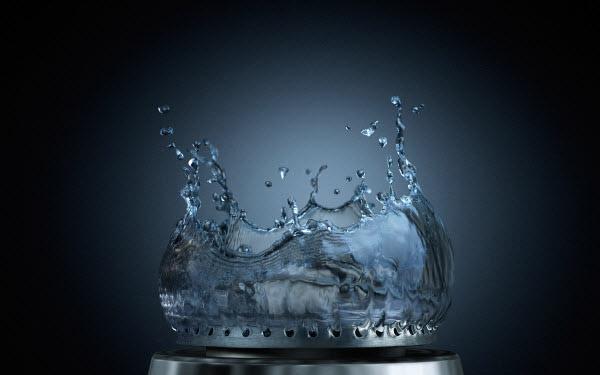 خلق تصاویر زیبا با آب