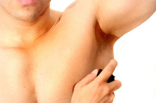 درمان سیاهی زیر بغل