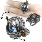 شیک ترین مدل انگشتر با نگین بزرگ