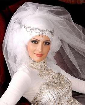 مدل تور عروسی با حجاب