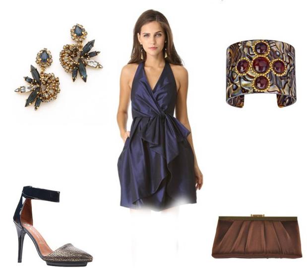 جدید ترین وشیک ترین ست های لباس مجلسی،کیف وکفش