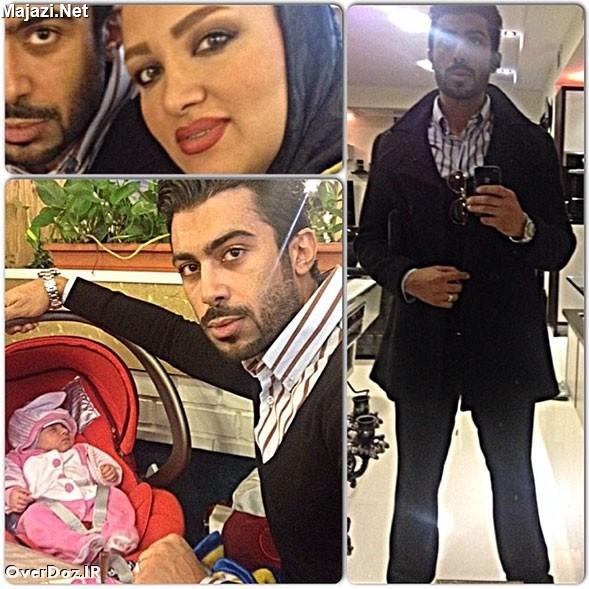 جدید ترین گالری عکس روناک یونسی به همراه همسرش