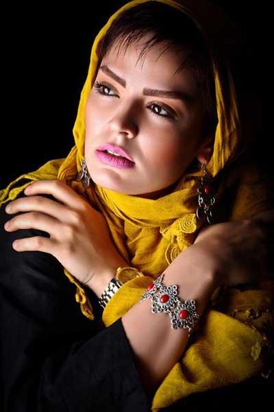 زیباترین عکس های سپیده خداوردی بازیگر سریال آوای باران
