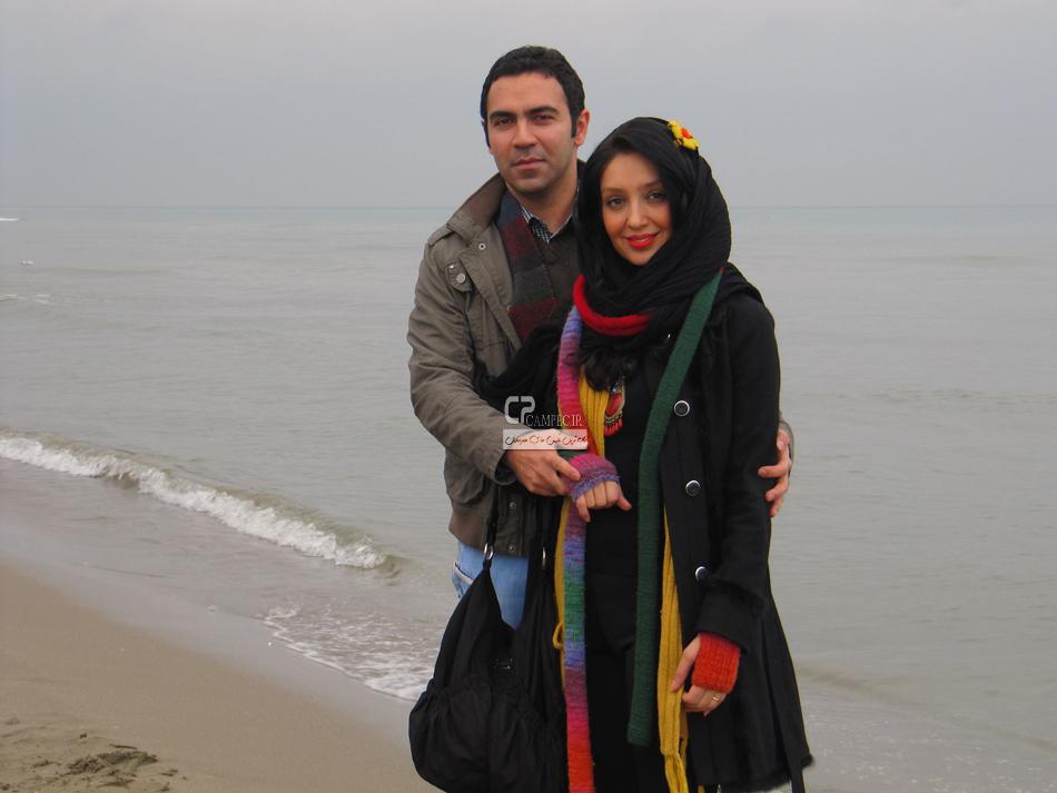 هیلدا خسروی در کنار همسرش