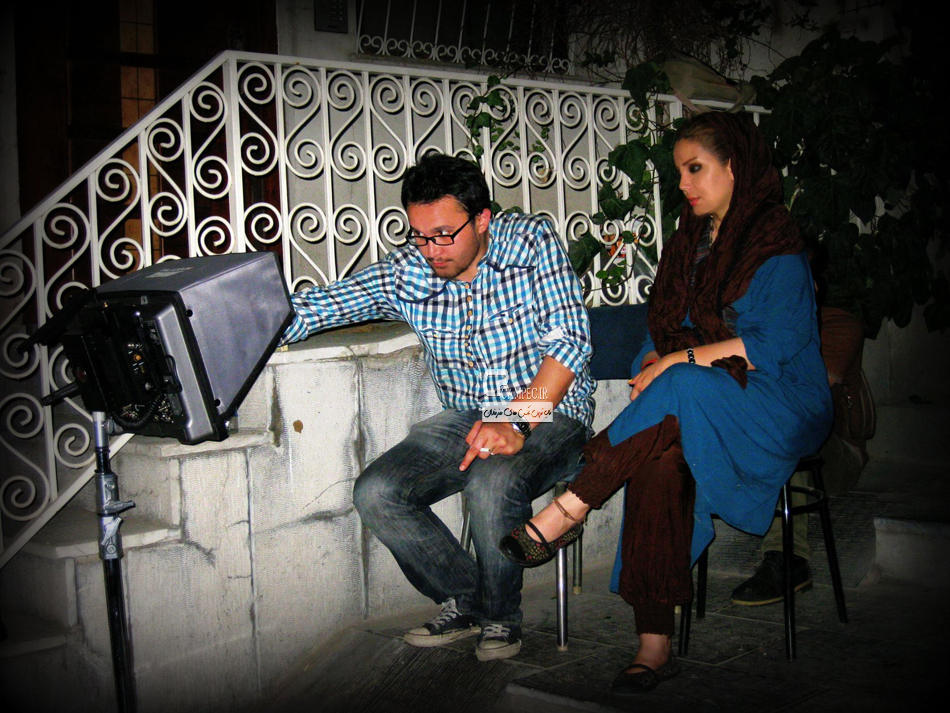 کیوان محمود نژاد در کنار همسرش