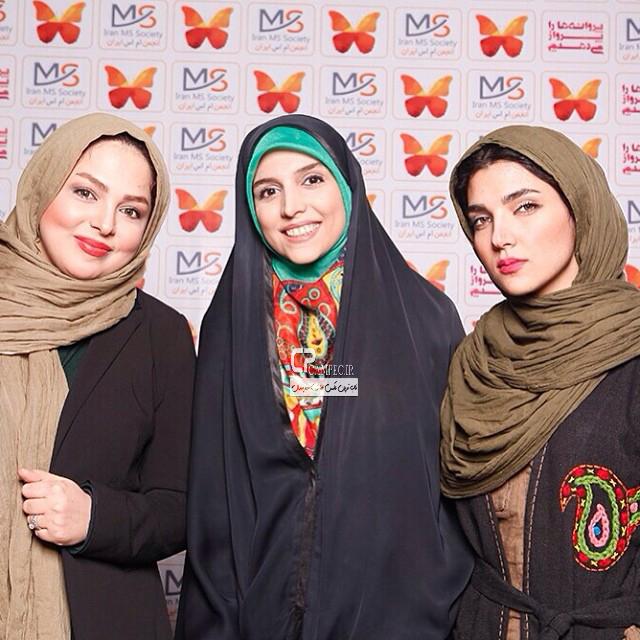 جدیدترین عکس های مجریان زن ایرانی فروردین 93