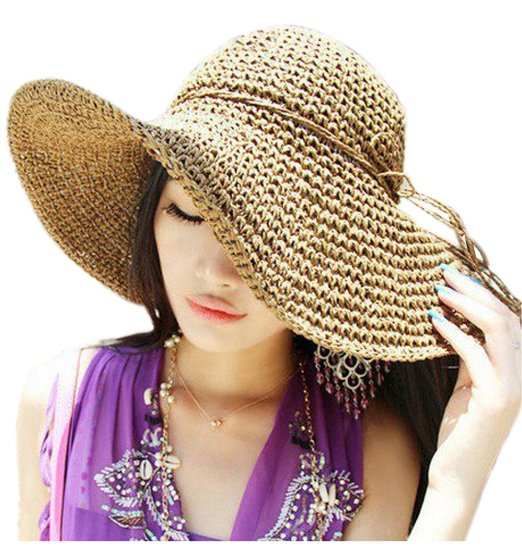 کلاه آفتابی طرح حصیر