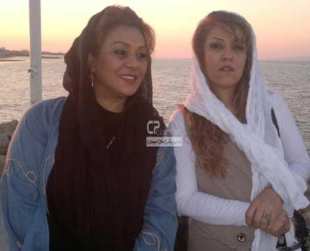 تازه ترین و زیباترین عکس های نسرین مقانلو در اردیبهشت 93