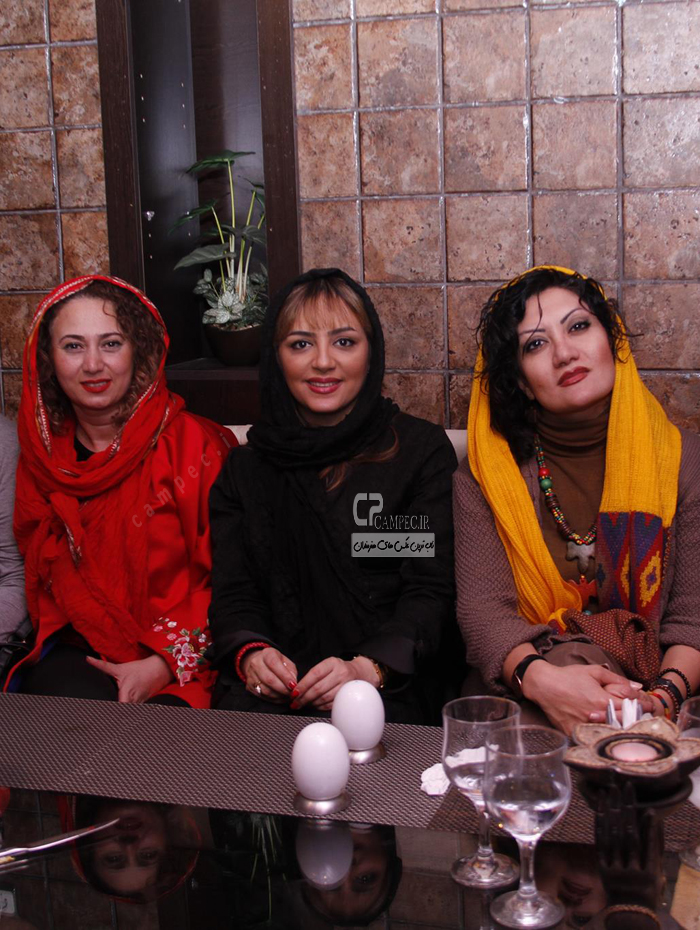 جدیدترین عکس های لیلا برخورداری بازیگر سریال خط در اردیبهشت 93