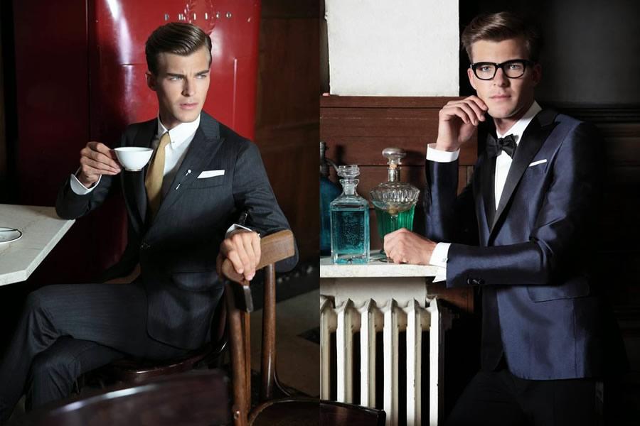 جدیدترین مدل های کت و شلوار کلاسیک مردانه  2014