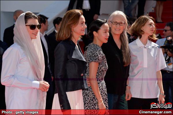 """""""تصاویر لیلا حاتمی در فرش قرمز کن 2014 از آغاز تا پایانThe 67th Annual Cannes Film Festival"""
