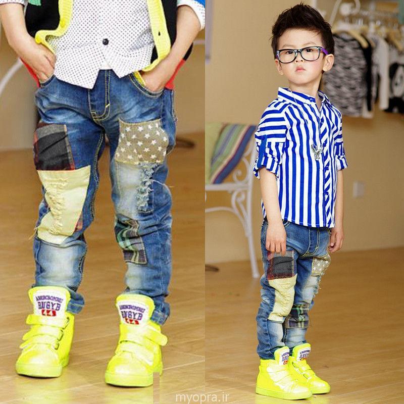 تیپ و لباس تابستانه پسر کوچولو ها 93