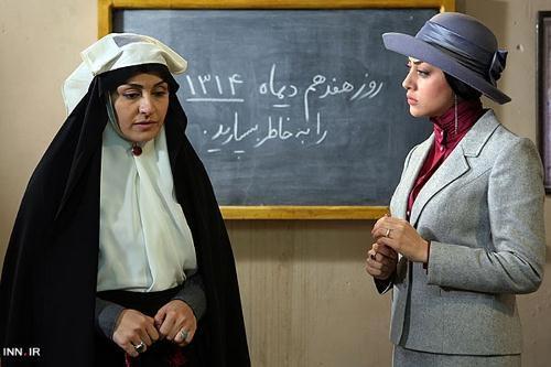 جدیدترین عکس های آناهیتا دری بازیگر کلاه پهلوی اردیبهشت 93