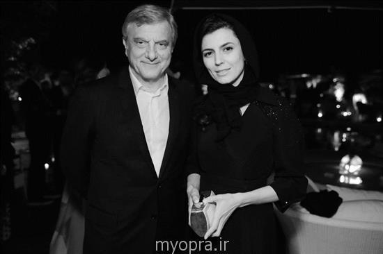 جدیدترین عکس های لیلاحاتمی کن مهمانی شام Dior و مجلۀ ELLE