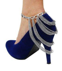 جدیدترین مدل های آویز کفش و پابند زنانه 2014