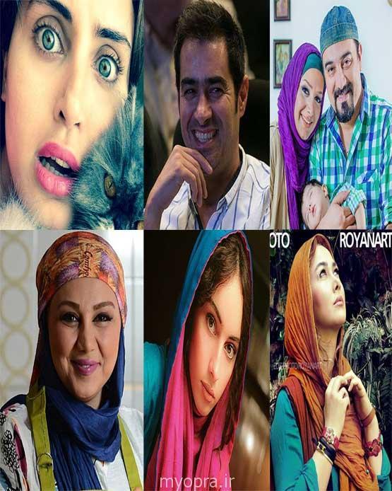 عکس های جدید بازیگران ایرانی در آغاز خرداد 93