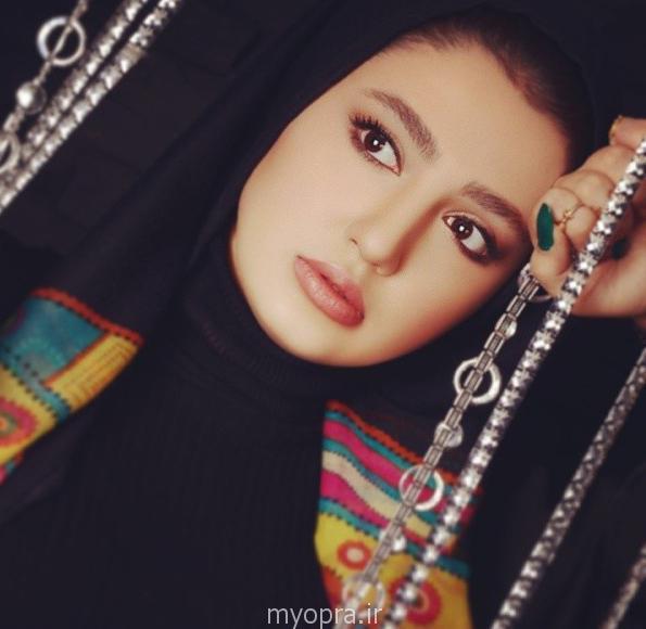 عکس های جدید نازلی رجب پور بازیگر سریال ستایش 2