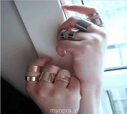جدیدترین مدل و ست های انگشتر بند انگشتی زنانه