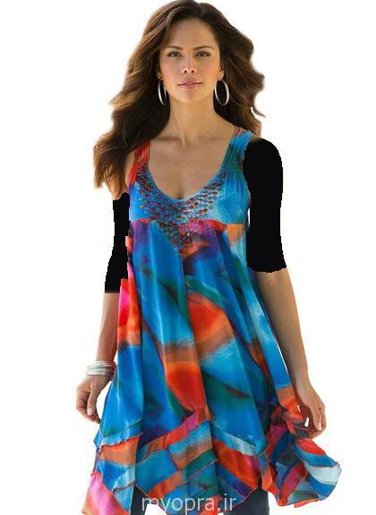امسال تابستون لباس  چه رنگی و چی مده ؟