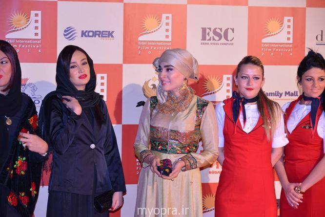 بروزترین تصاویر بازیگران ایرانی در جشنواره فیلم اربیل عراق