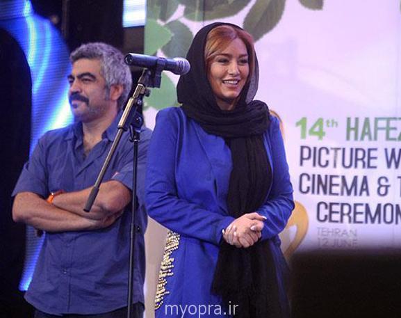 بروز ترین عکس های سحر قریشی در جشن حافظ 93