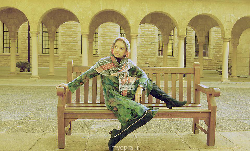 جدیدترین عکس های شبنم قلی خانی در استرالیا خرداد ۹۳