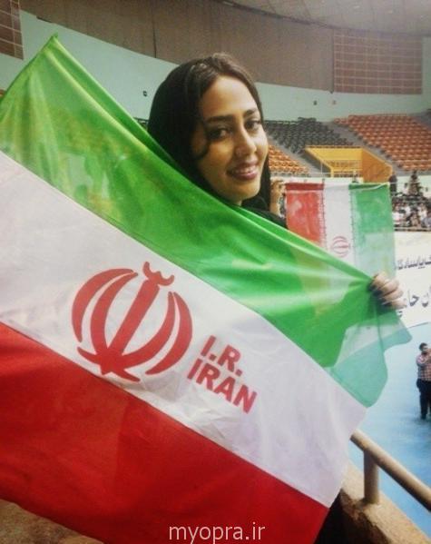 جدیدترین عکس های مینا فلاحت پیشه در خرداد 93