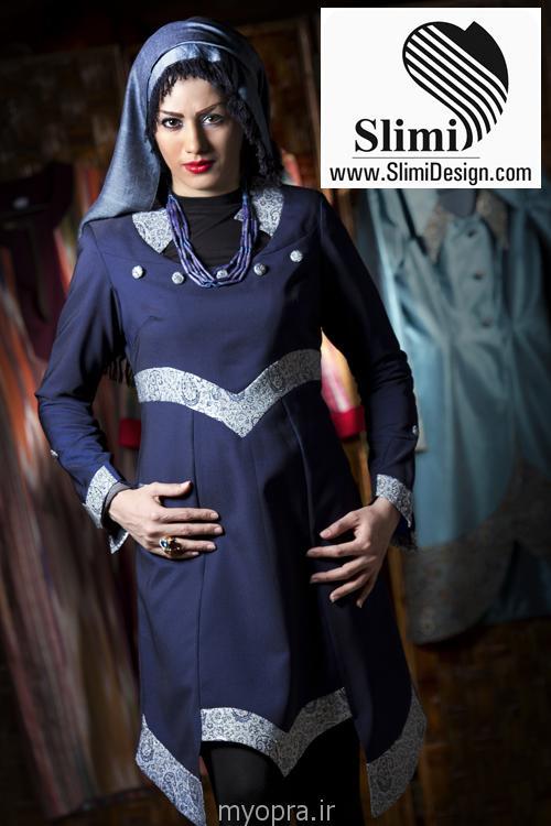 جدیدترین مدل های مانتو مجلسی ایرانی 93