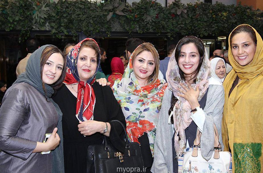عکس های آناهیتا افشار بازیگر سریال مدینه اکران خصوصی برف