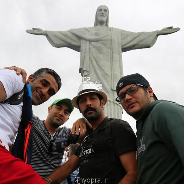 عکس مجسمه حضرت مسیح در برزیل