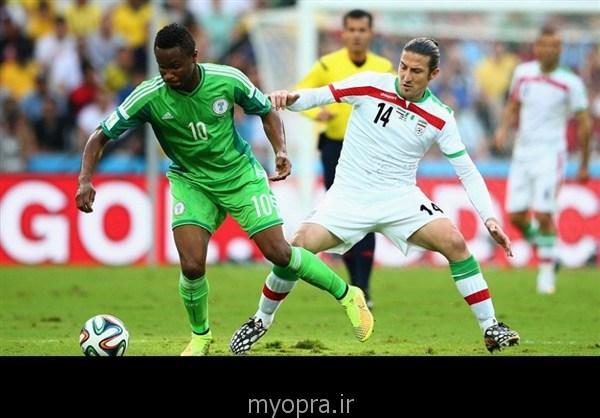 عکس های بازی ایران نیجریه در برزیل 2014