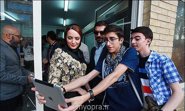 عکس های بهنوش طباطبایی و همسرش جشن برگزیدگان سینمای ایران (2)
