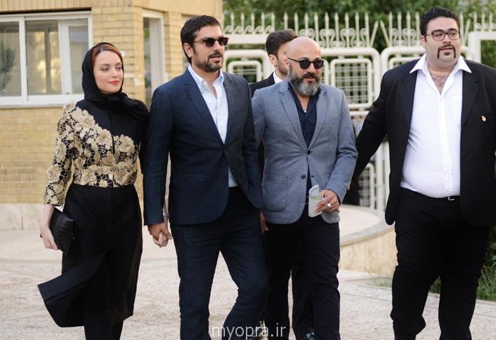 عکس های بهنوش طباطبایی و همسرش جشن برگزیدگان سینمای ایران