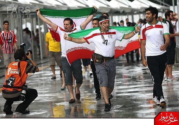 عکس های تماشاگران زن و مرد ایرانی