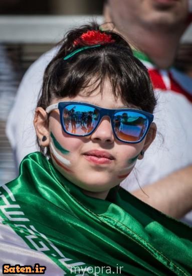 عکس های جالب از تماشاگران زن ایرانی در بازی ایران آرژنتین