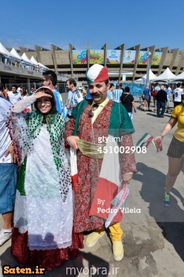 عکس های جالب از تماشاگران زن ایرانی در بازی ایران آرژنتین  (22)