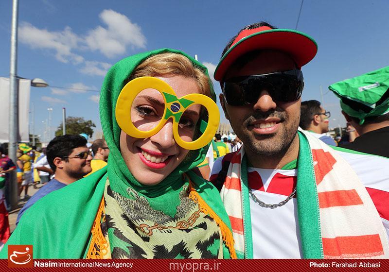 عکس های جالب از تماشاگران زن ایرانی در بازی ایران آرژنتین  (28)