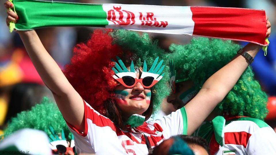 عکس های جالب از تماشاگران زن ایرانی در بازی ایران آرژنتین  (5)