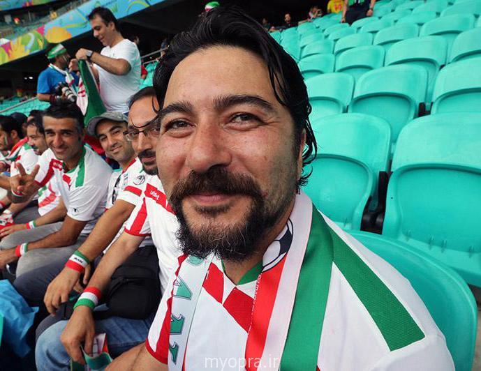 عکس های جدید  بازیگران اعزامی به برزیل دیدار ایران و بوسنی