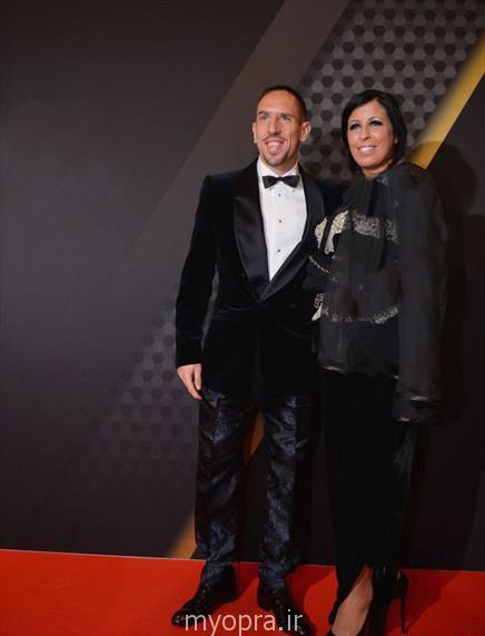 عکس های جدید فوتبالیست های مشهور و همسرانشان 2014