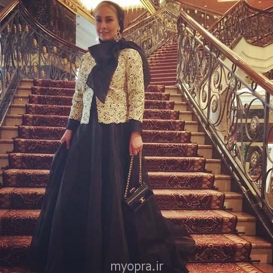 عکس های جدید و متفاوت آناهیتا نعمتی در جشنواره فیلم مسکو