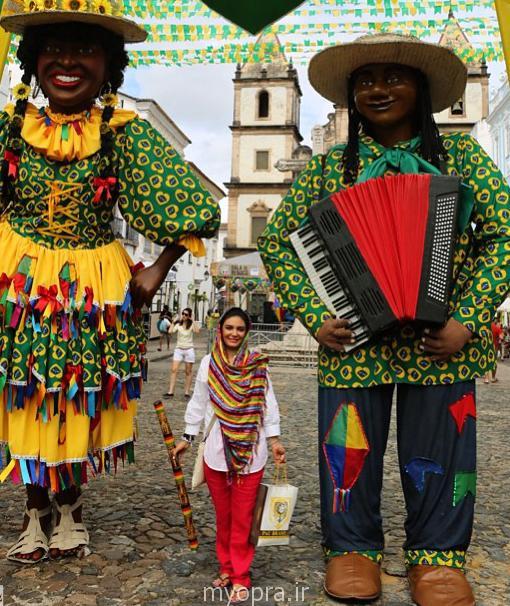 عکس های جدید و کمیاب ازبازیگران در برزیل 2014