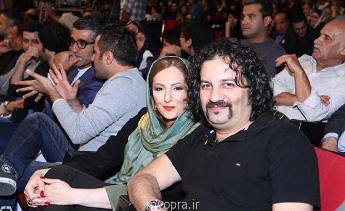 عکس های روز بازیگران ایرانی در کنار همسرانشان جشن حافظ  (2)