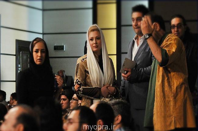 عکس های روز بازیگران ایرانی در کنار همسرانشان جشن حافظ