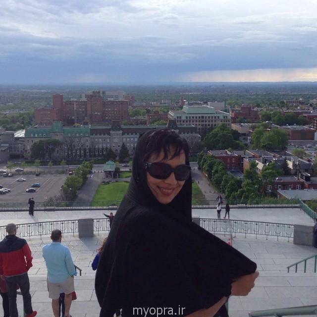 عکس های  متفاوت روشنک عجمیان در خارج از کشور  93